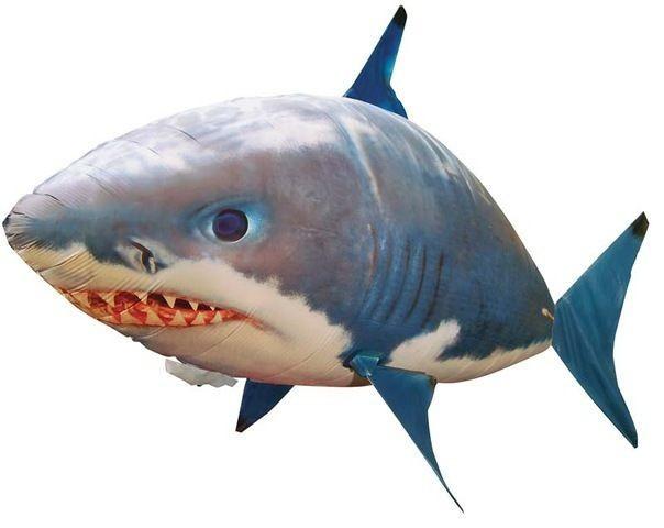 Летающая рыба Air Swimmers,рыба Акула - летающие игрушки