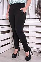 Леггинсы брюки большого размера Карман флис, леггинсы на флисе, леггинсы батал