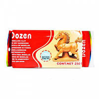 Паста для моделирования Dozen 250 грамм терракотовая