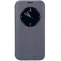 Чехол книжка Nillkin Sparkle Series для Samsung Galaxy S7 Edge G935 черный