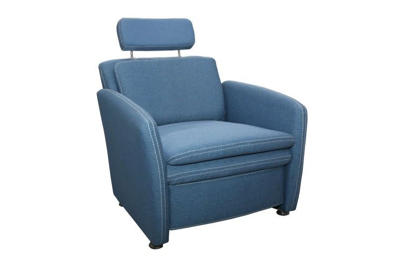 Кресло мягкое с подголовником