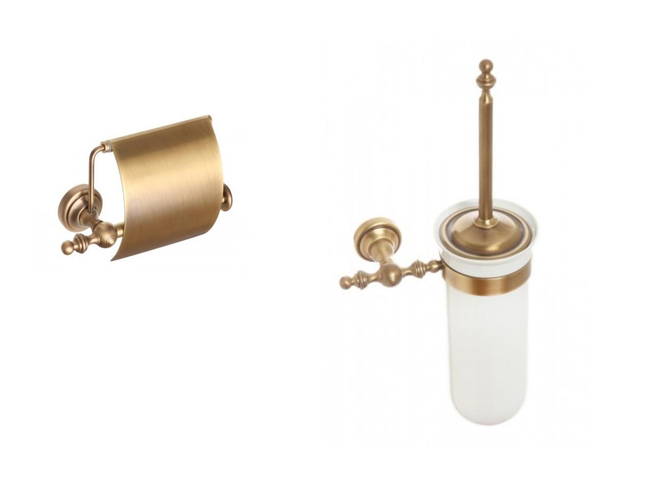 Набор аксессуаров для ванной комнаты Richmond, R302k бронза