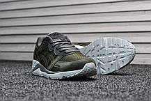 Мужские кроссовки Asics Gel Lyte Lique Green (Реплика), фото 3