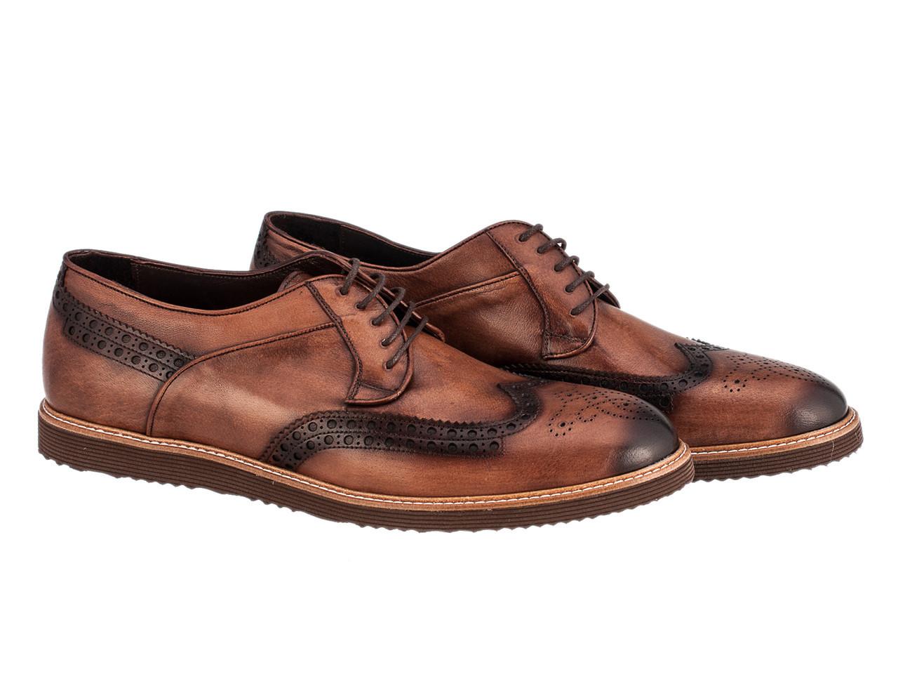Броги Etor 13055-100 46 коричневые