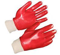 Перчатки МБС (маслобензостойкие красные)