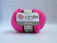 Пряжа для ручного вязания YarnArt Jeans цвет 59, полухлопковая пряжа для вязания игрушек, детская пряжа