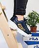 Fila Disruptor II Navy Gold (реплика), фото 8