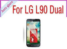 Защитная пленка матовая на LG L90 Dual d410