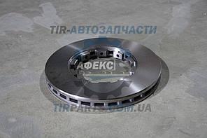 Диск тормозной DAF 432X45 CF, XF 98R- /P,T/ под кольцо (1387439 New Style | 37842CNT)