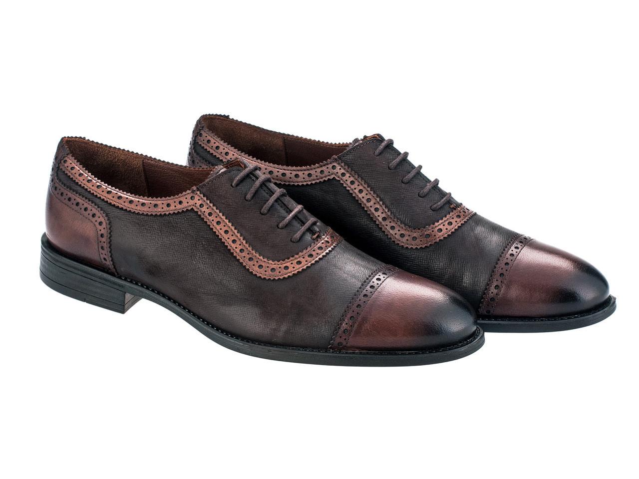 Броги Etor 13936-7257 43 коричневые