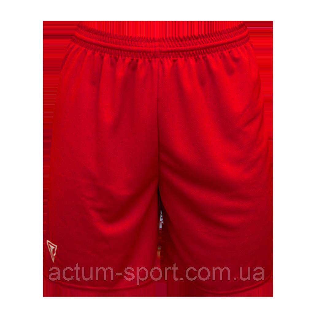 Шорты футбольные Universal Titar XXL, Красный