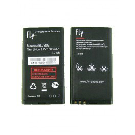 Аккумулятор на Fly BL7303 (Fly TS107), 1500 mAh Оригинал