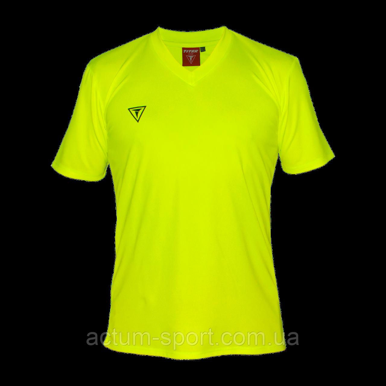 Футболка игровая Universal Titar Лимонный, XL