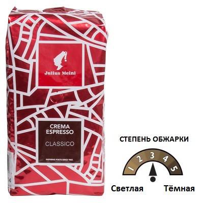 Кофе в зернах Julius Meinl Crema Espresso Classico, 1 кг