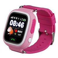 Дитячий смарт годинник Q90 Рожевий