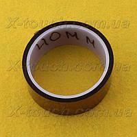 Каптоновая лента kapton, термостойкий скотч 40 мм