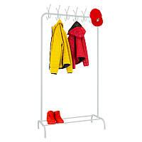 "Стойка для одежды ""Лофт 7 белый"" - 178х100х49 см"