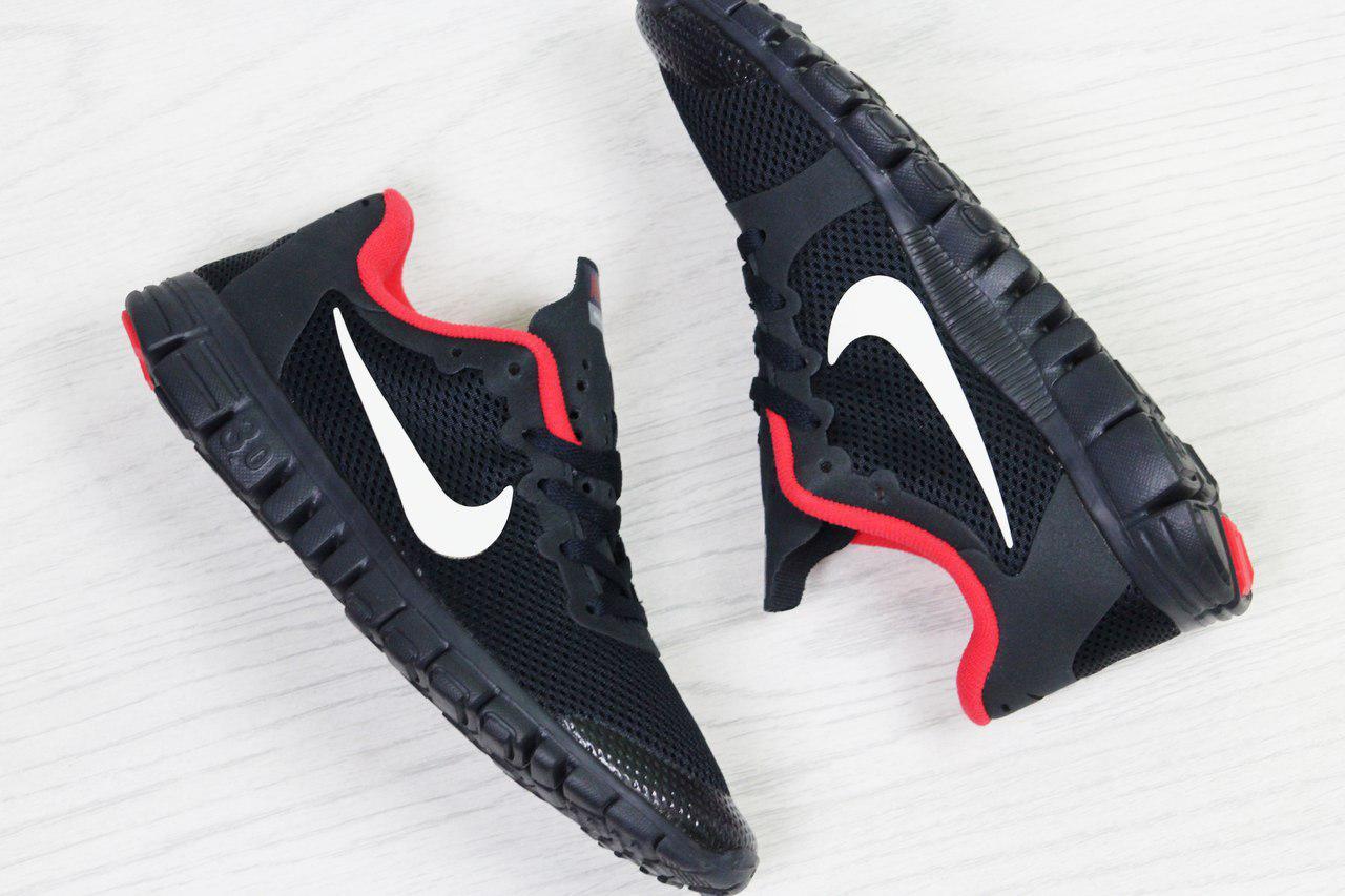 365eec6e ... Кроссовки в стиле Nike Free 3.0 (темно синие с красным) летние  кроссовки найк nike ...