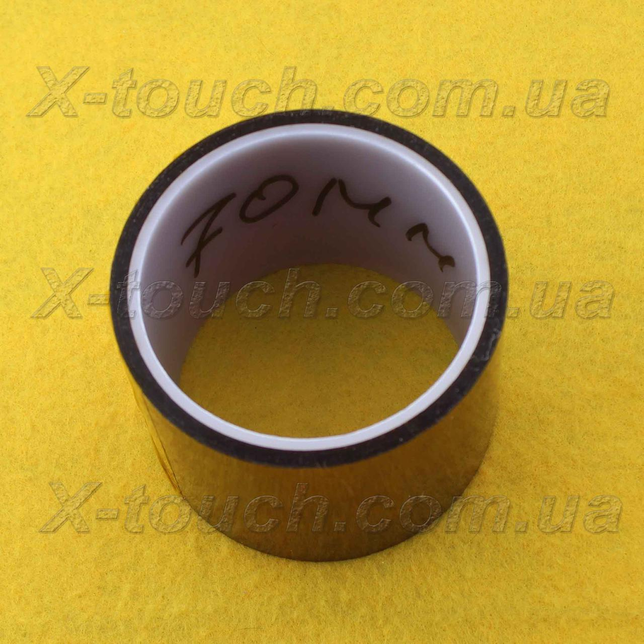 Каптоновая лента kapton, термостойкий скотч 70 мм
