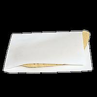 """Уголок бумажный жиростойкий """"Для блинов"""" 200х140мм (ВхШ) 60г/м² 500шт (582) Белый"""