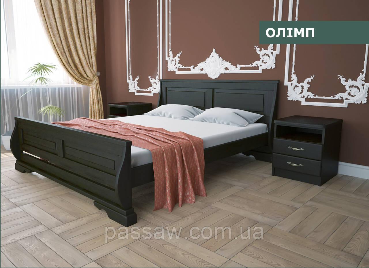 """Кровать деревянная """"Олимп"""" 1,8  ольха"""