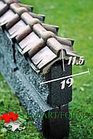 """Накриття на паркан """"парапет китай 2.2"""" (19Х75Х11.5)"""