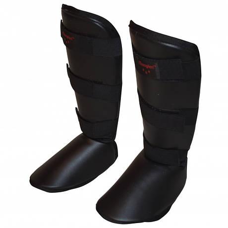 Защита голени и стопы Champion Черная, размер M,L,XL