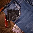 """Зажим для денег кожаный компактный на кнопке Shabby """"Поехали путешествовать!"""". Цвет черный, фото 5"""
