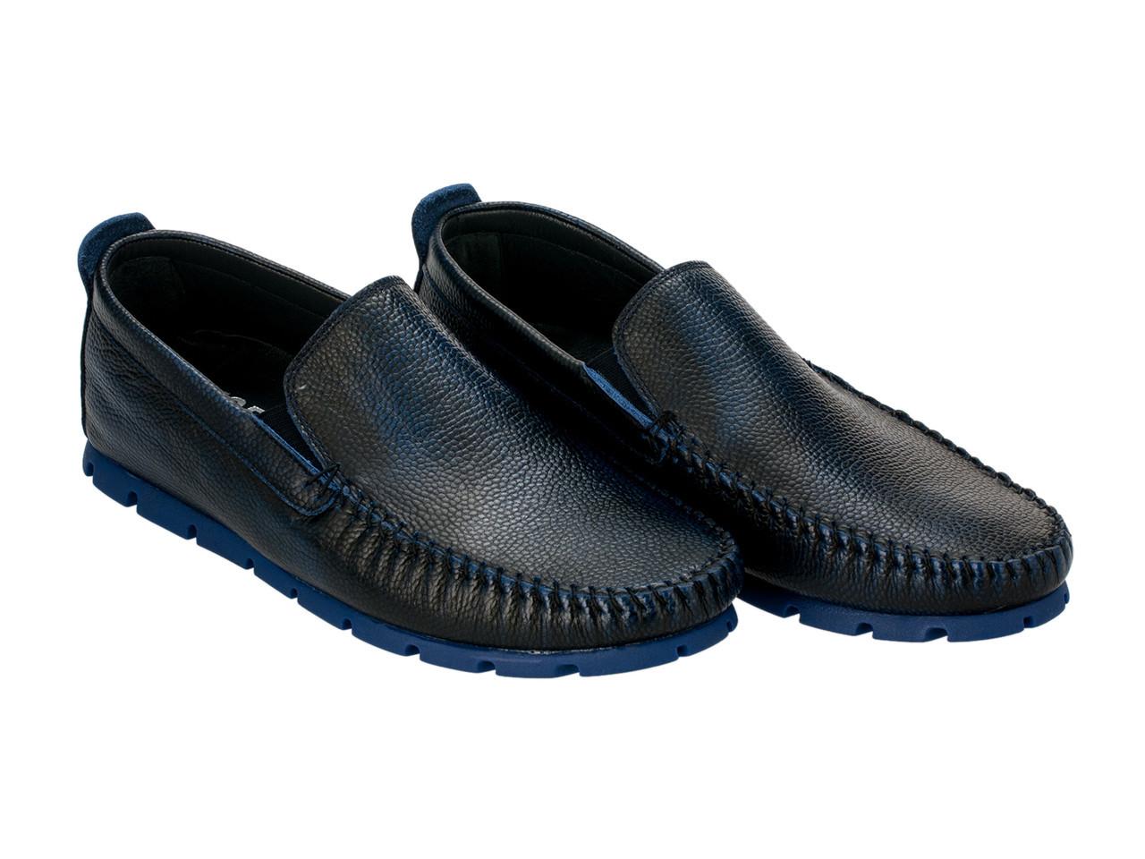 Мокасины Etor 10349-16654 44 синие