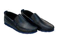 Мокасины Etor 10349-16654 44 синие, фото 1