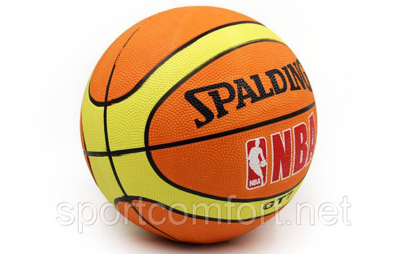 Баскетбольний м'яч №7 Spalding NBA gt7 репліка