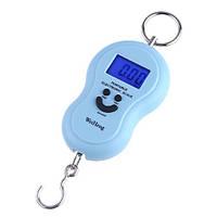 Кантер электронный (весы) 10г - 40 кг с подсветкой и термометром, фото 1