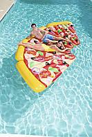 Надувной матрас BestWay 44038 (188х130 см.) Матрас для плавания Пицца