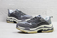 Кроссовки в стиле Balenciaga (темно серые) баленсиага 5456
