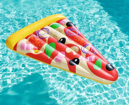 Надувной матрас BestWay 44038 (188х130 см.) Матрас для плавания Пицца, фото 2