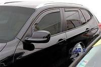 Дефлектора окон Heko  BMW X1 (E84) 5D 2009-2015 вставные