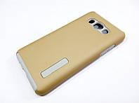 Протиударний чохол Dual Pro для Samsung Galaxy J5 J510 (2016) полікарбонат золотий