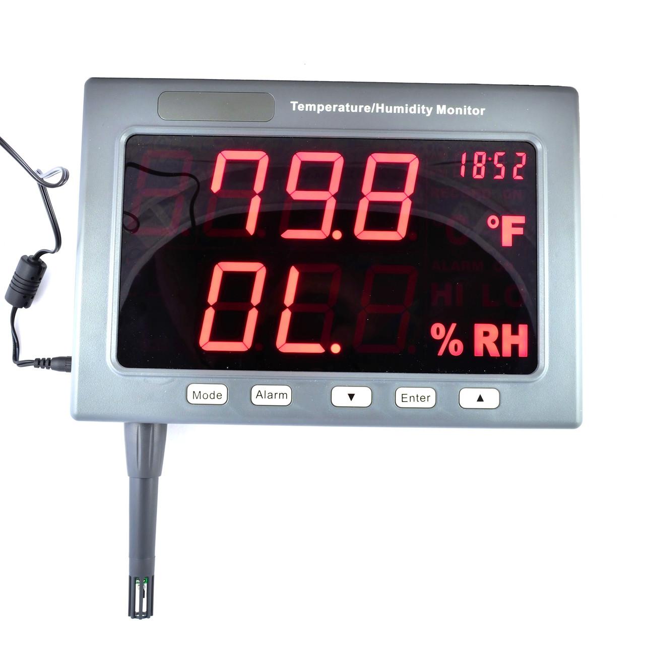 EZODO HT-360D (TM-185D) Настінний термогігрометр