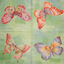 Салфетки декупажные с бабочками 199