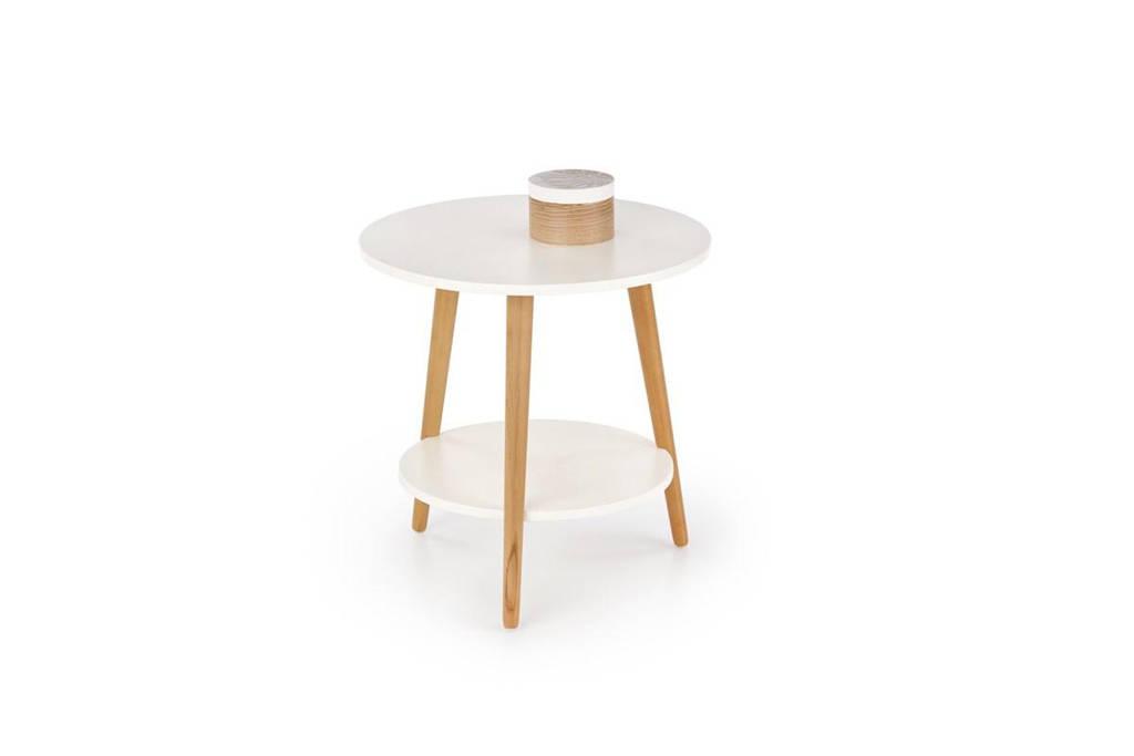 Кофейный столик SAGO белый Halmar