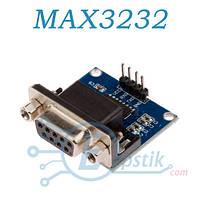 Модуль MAX3232 RS232 в TTL (3В-5В), DB-9F