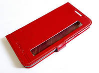Чохол книжка з віконцем momax для LG X Style K200DS червоний