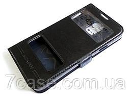Чехол книжка с окошками momax для Samsung Galaxy S5 g900 черный