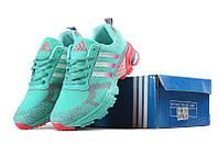 Женские кроссовки Adidas Marathon Flyknit «Mint»