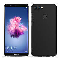 Силиконовый чехол iNavi Huawei P Smart Черный