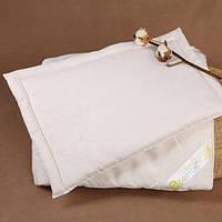 Набор детское хлопковое одеяло и подушка (с натуральным наполнителем)