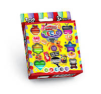 Тесто для лепки Master-Do 12 цветов Danko Toys  (TMD-02-03)