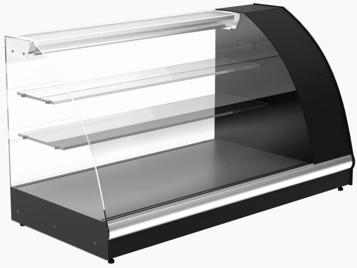 Витрина настольная холодильная АРГО XL ВХС-1,2 (A57 VM 1,2-1) - ООО «Компания МАВИКО» в Харькове