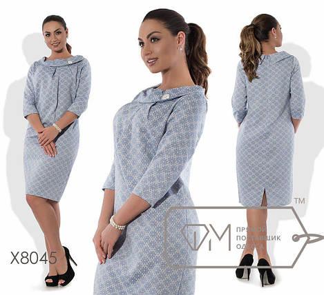 "Женское платье ткань ""Лен"" размер 56 размер батал, фото 2"