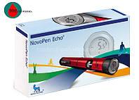 Шприц-ручка НовоПен Эхо (NovoPen Echo) (красная)